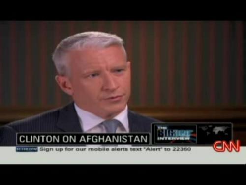 Anderson Cooper interviews Bill Clinton