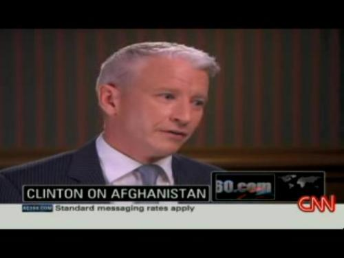 Anderson Cooper interviews Bill Clinton 8