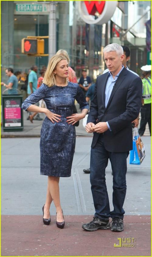 Drew Barrymore, Anderson Cooper