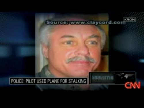 Pilot used place for stalking