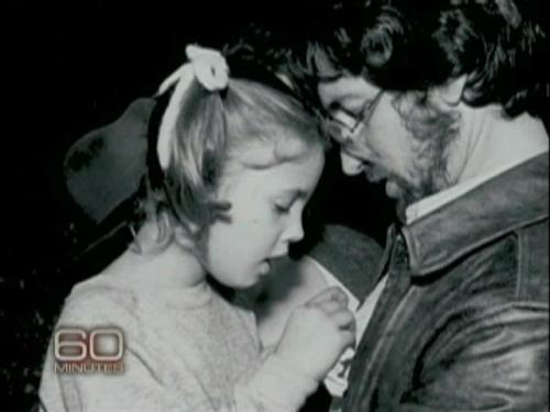 Drew Barrymore and Steven Spielberg, her 'godfather'