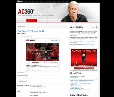 AC360 Anderson Cooper's Official Blog and Site
