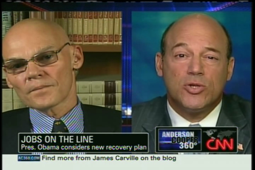 Carville and Fleischer
